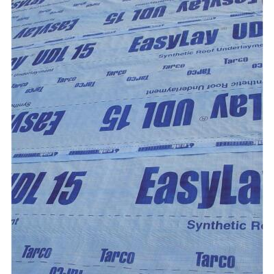 LeakBarrier EasyLay 48 In. x 250 Ft. Blue UDL 15 Synthetic Roof Felt