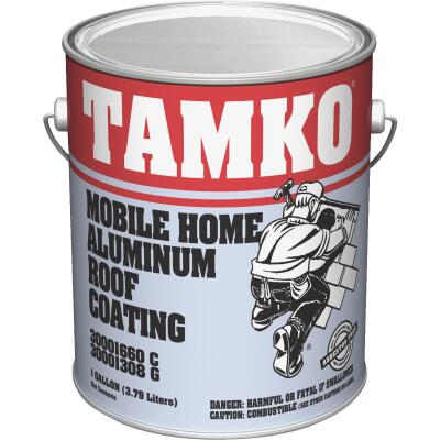 Tamko 1 Gal. Fibered Aluminum Mobile Home Roof Coating