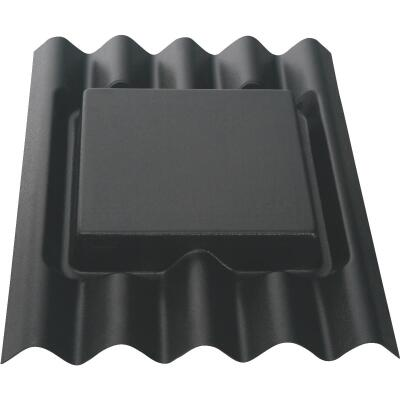 Ondura 6 In. to 10 In. ABS Corrugated Asphalt Roofing Roof Pipe Flashing