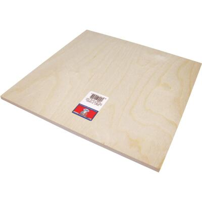 Midwest Products 3/8 In. x 12 In. x 12 In. Birch Plywood