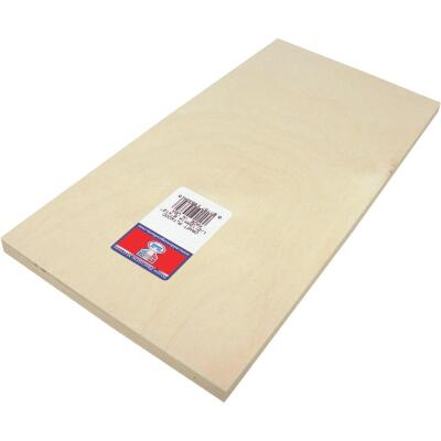 Midwest Products 1/2 In. x 6 In. x 12 In. Birch Plywood