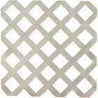 Dimensions 4 Ft. W x 8 Ft. L x 1/8 In. Thick Gray Vinyl Lattice Panel Image 1