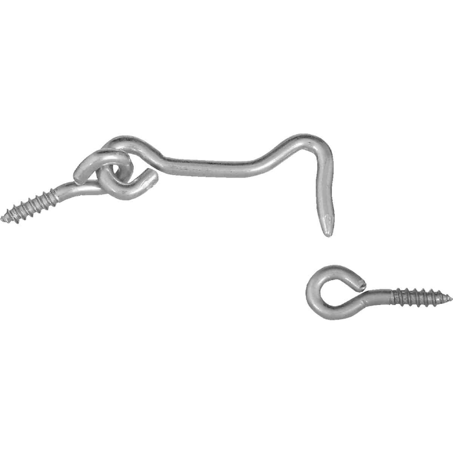 National 2 In. Steel Hook & Eye Bolt (2 Ct.) Image 1