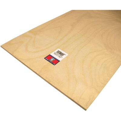 Midwest Products 1/4 In. x 12 In. x 24 In. Birch Plywood