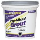 Custom Building Products Simplegrout Quart Sandstone Pre-Mixed Tile Grout Image 1