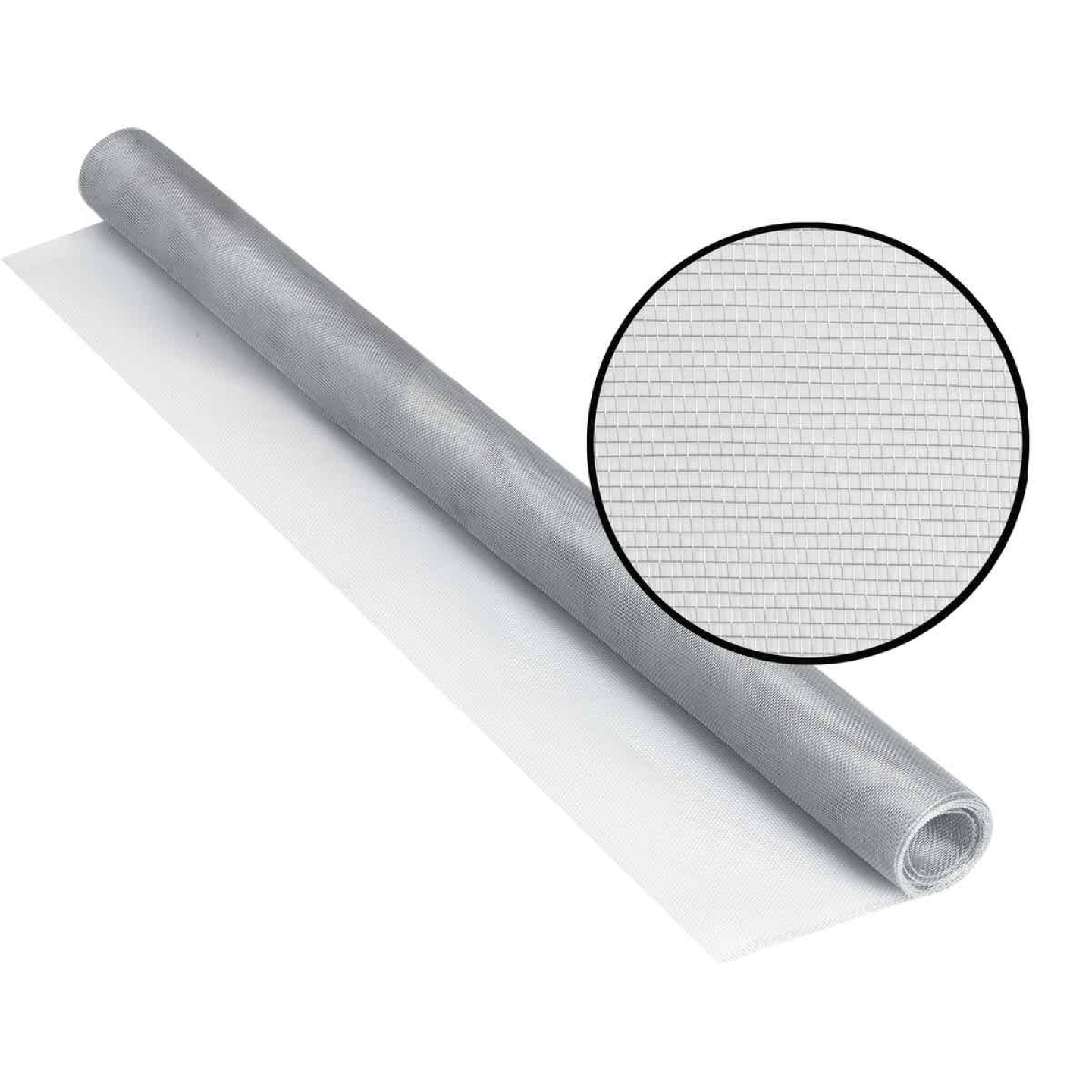 Phifer 24 In. x 84 In. Brite Aluminum Screen Ready Rolls Image 1
