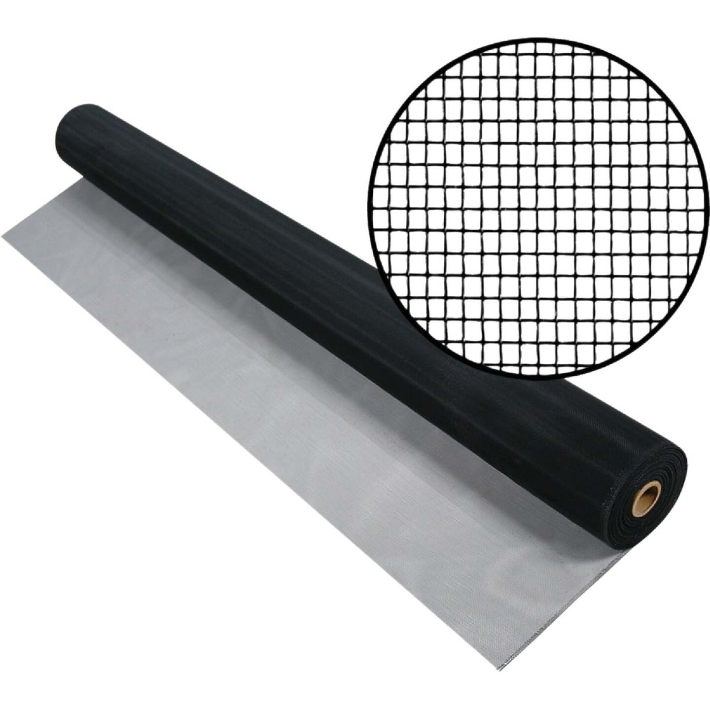 Phifer 36 In. x 84 In. Charcoal Aluminum Screen Ready Rolls Image 1