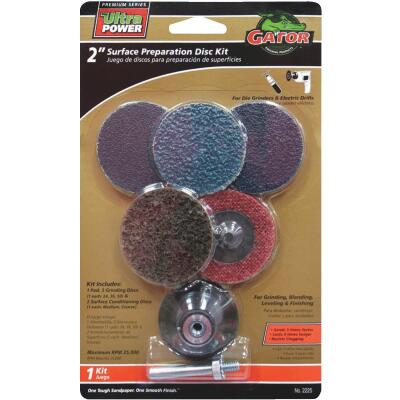 Gator 2 In. Sanding Disc Kit (6-Pack)