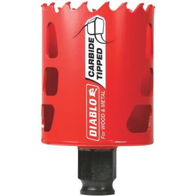 Diablo 2-1/8 In. Carbide-Tipped Hole Saw