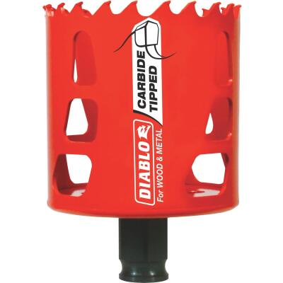 Diablo 2-1/2 In. Carbide-Tipped Hole Saw