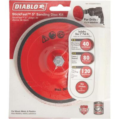 Diablo 5 In. Sanding Disc Kit