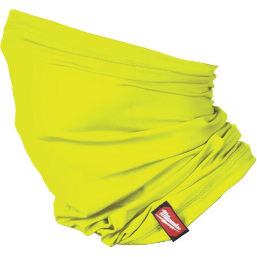 Milwaukee Washable Neck Gaiter, High Visibility Yellow