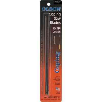Olson 6-1/2 In. 10 TPI Coping Saw Blade (4-Pack)