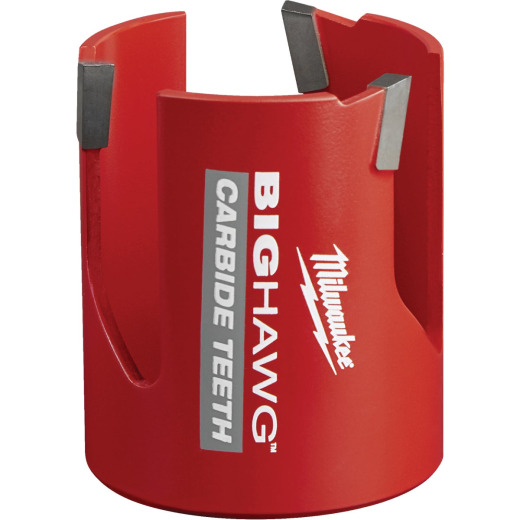 Milwaukee Big Hawg 2-1/4 In. Carbide-Tipped Hole Saw