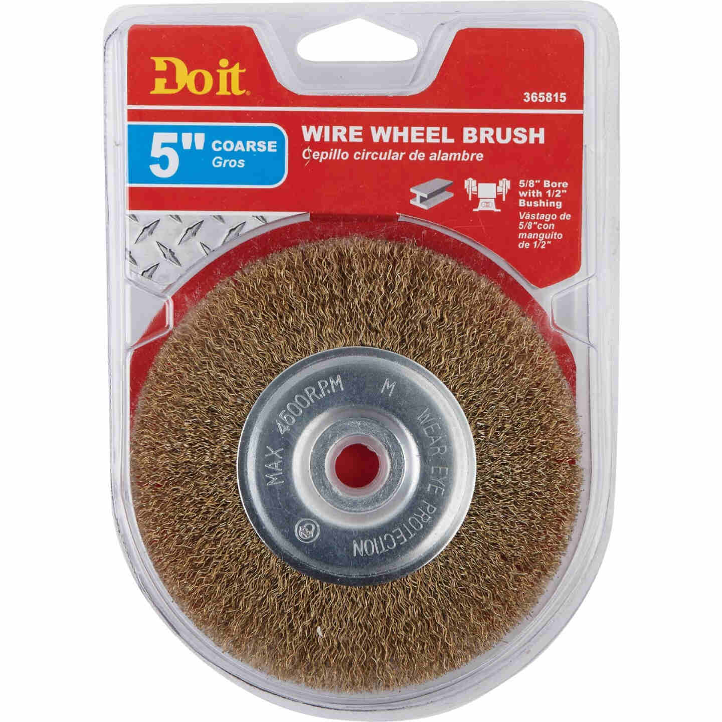 Do it 5 In. Coarse Bench Grinder Wire Wheel Image 2