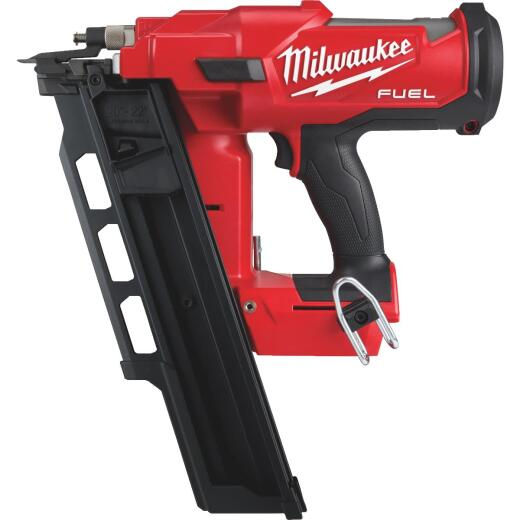 Milwaukee M18 FUEL 18-Volt Lithium-Ion Brushless 21 Degree Cordless Framing Nailer (Bare Tool)