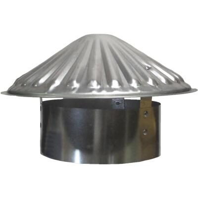 S & K Galvanized Steel 7 In. x 11 In. Vent Pipe Cap