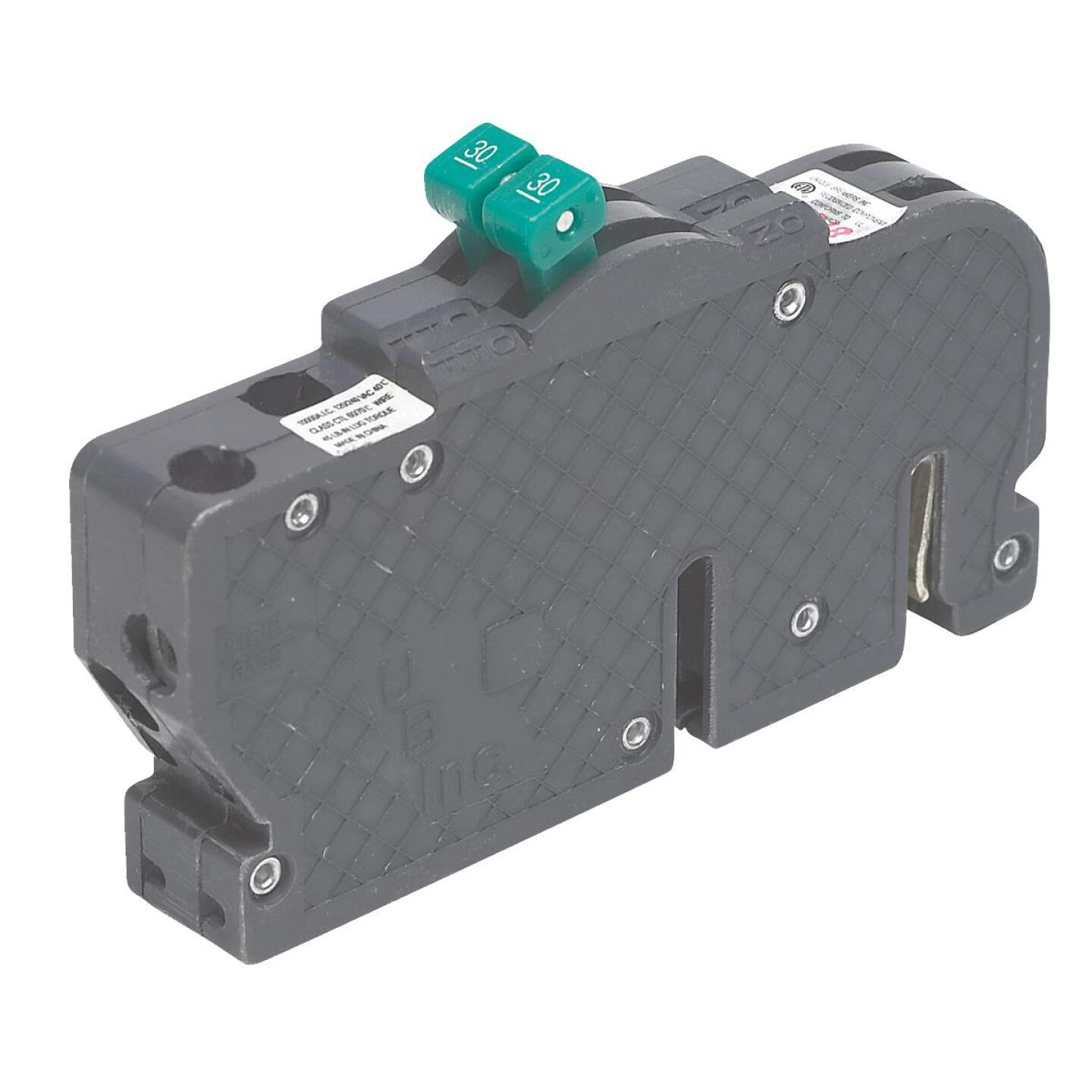 Connecticut Electric 30A/30A Twin Single-Pole Standard Trip Packaged Replacement Circuit Breaker For Zinsco Image 1