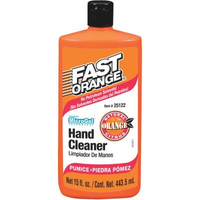 PERMATEX Fast Orange Pumice Citrus Hand Cleaner, 15 Oz.