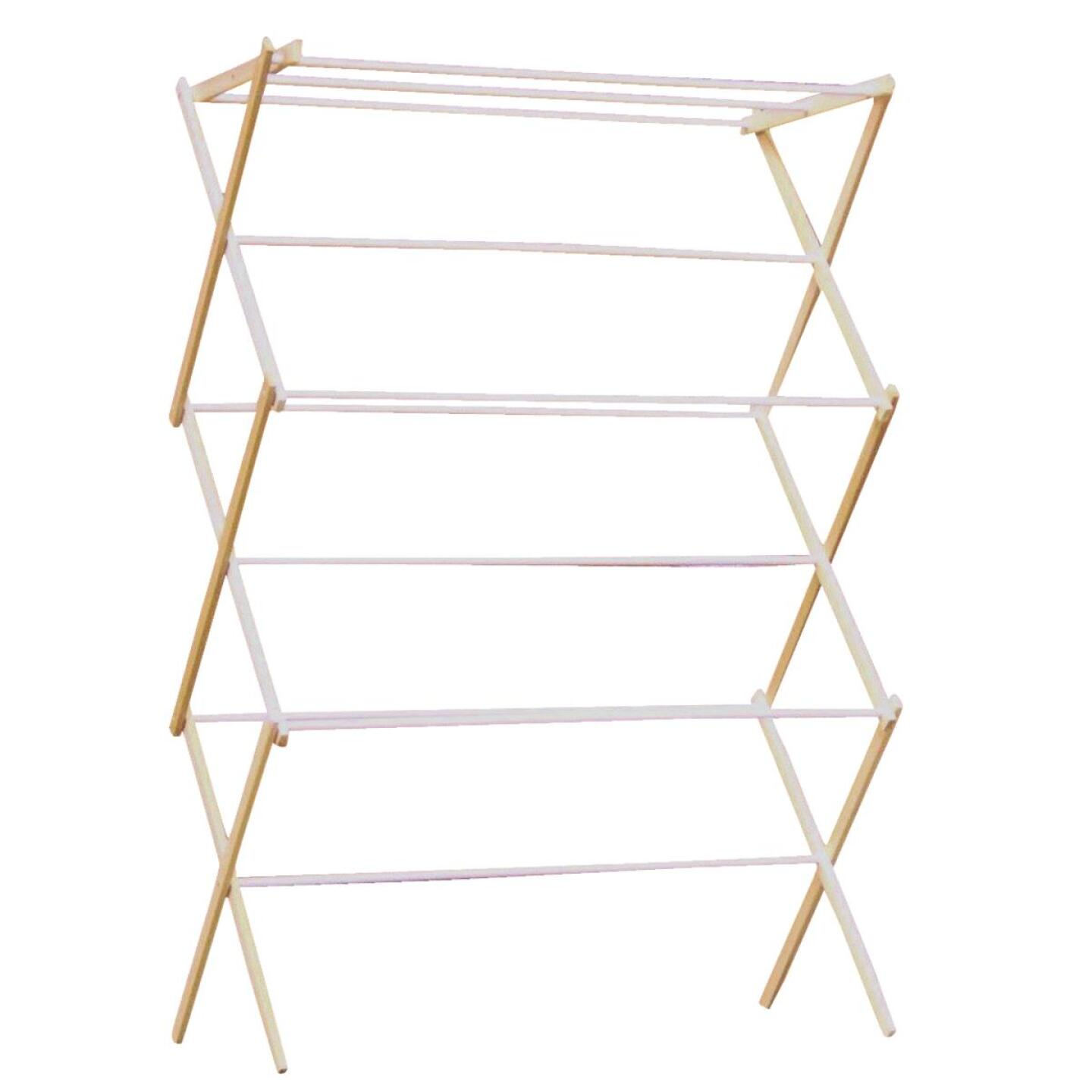 Madison Mill Wood Clothes Drying Rack Image 1