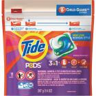 Tide Pods Spring Meadow Child-Guard Zipper Laundry Detergent (16-Count) Image 1