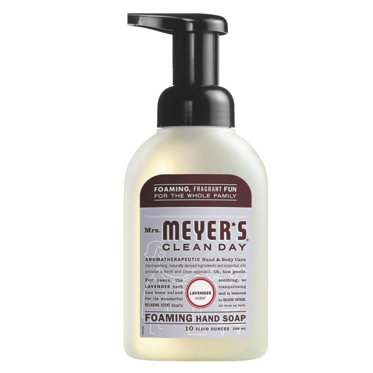 Mrs. Meyer's Clean Day Lavender Foaming Hand Soap Image 1