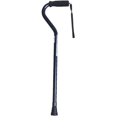 Medline Blue Aluminum Offset Handle Cane