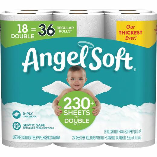 Angel Soft Toilet Paper (18 Double Rolls)