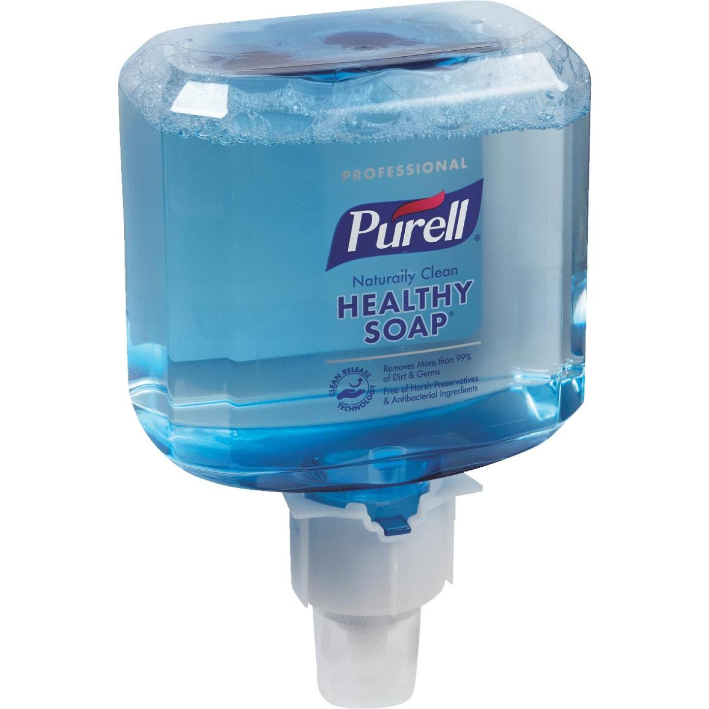 Purell ES6 Professional CRT Healthy Soap Foam 1200 mL Clean Scent Hand Cleaner for Touch-Free Dispenser Image 1