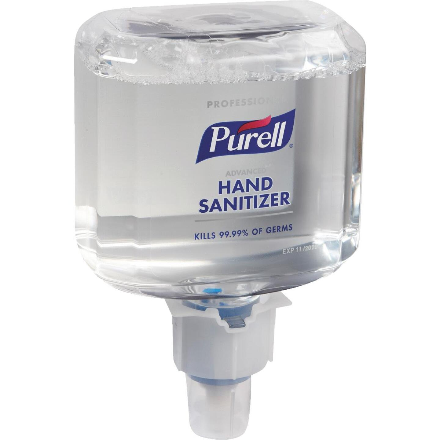 Purell Professional ES6 Advanced Foaming 1200 mL Hand Sanitizer for Touch-Free Dispenser Image 1