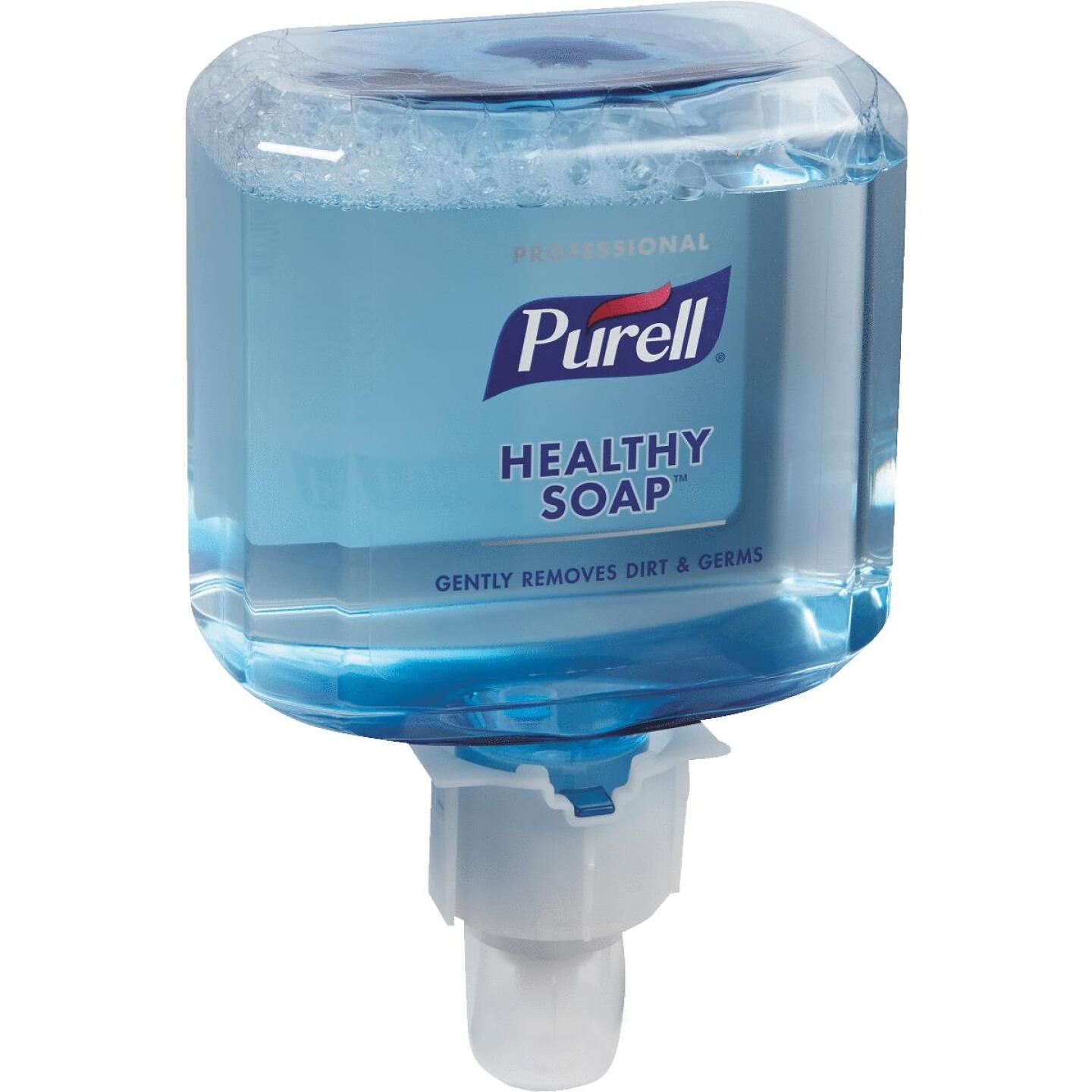 Purell ES4 Professional Healthy Soap Foam 1200 mL Fresh Scent Hand Cleaner for Push-Style Dispenser Image 1