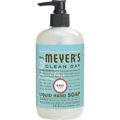 Mrs. Meyer's Clean Day 12.5 Oz. Basil Liquid Hand Soap