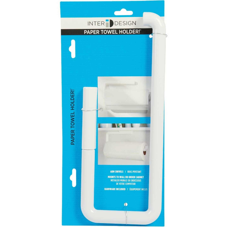 InterDesign Wall Mount Paper Towel Holder Image 4