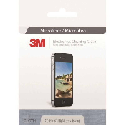 3M 6 In. x 7 In. Microfiber Cleaning Cloth