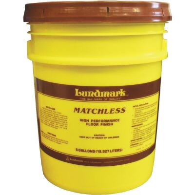 Lundmark 5 Gal. Matchless Urethane Fortified Acrylic Floor Finish
