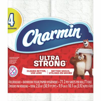 Charmin Ultra Strong Toilet Paper (4 Regular Rolls)