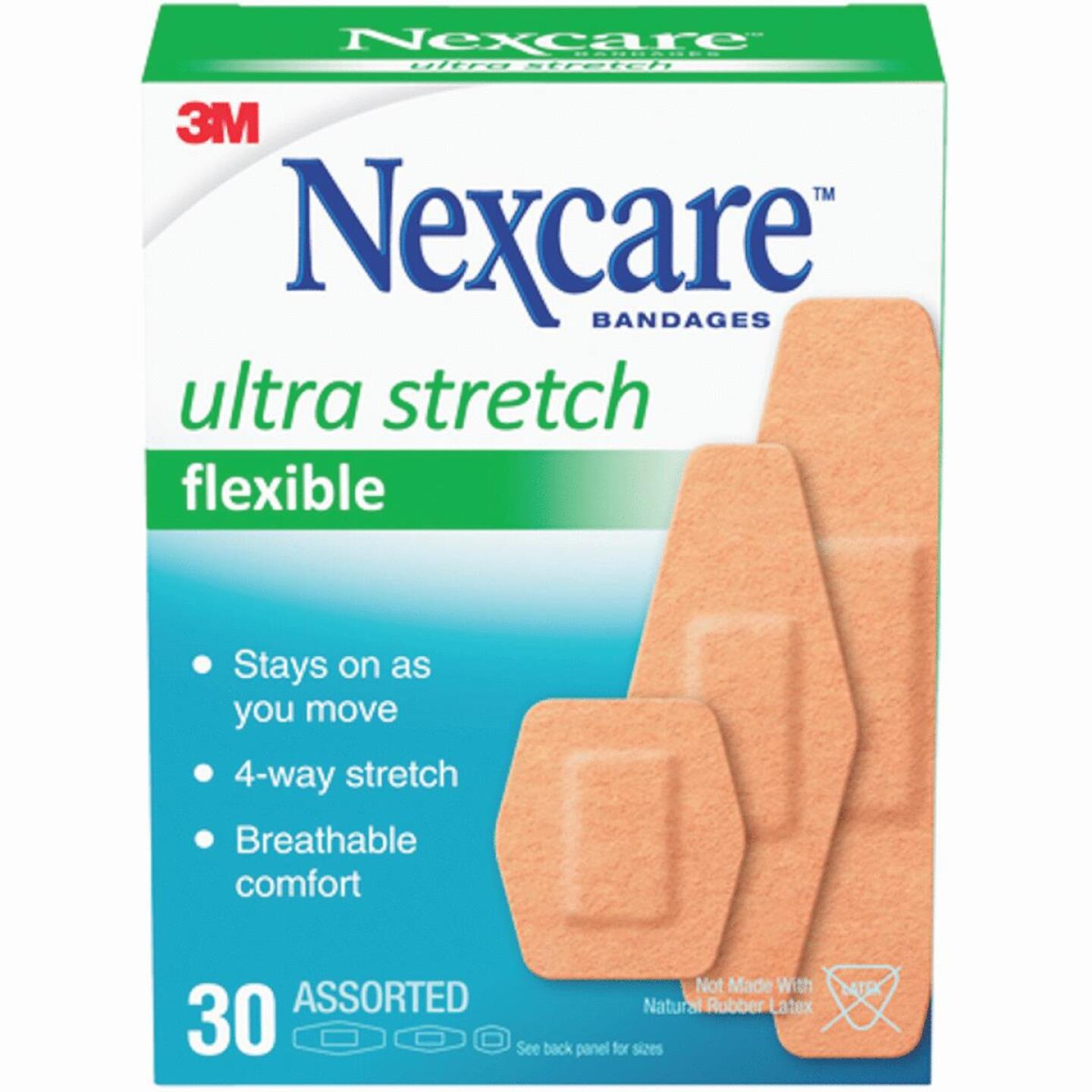 3M Nexcare Ultra Stretch Flex Assorted Bandages, (30 Ct.) Image 1
