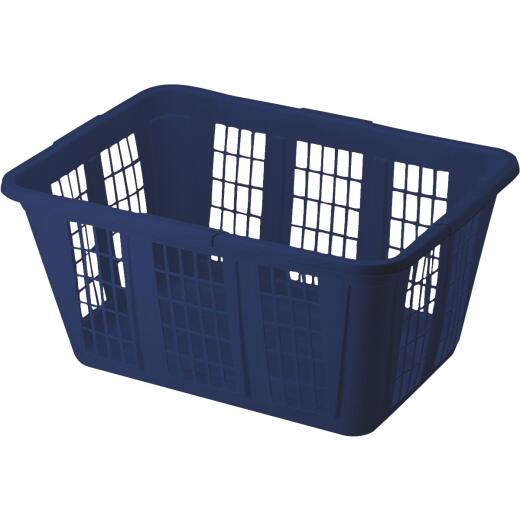 Rubbermaid Blue Smooth Laundry Basket