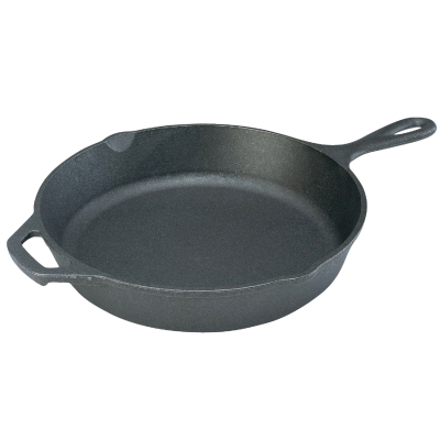 Lodge 12 In. Cast Iron Skillet with Assist Handle
