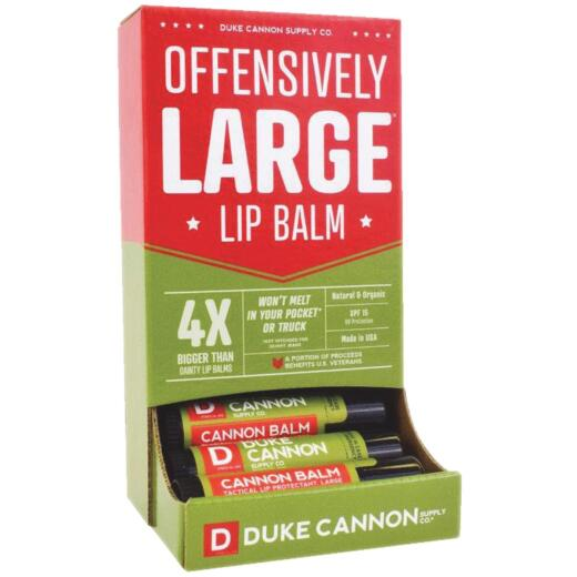 Duke Cannon Repair + Defend 0.56 Oz. Mint 15 SPF Lip Balm