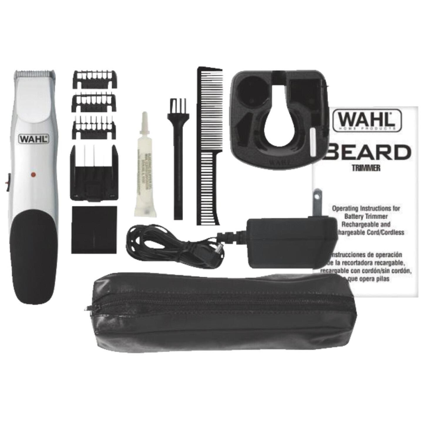 Wahl Rechargeable Beard Trimmer/Groomer Image 1