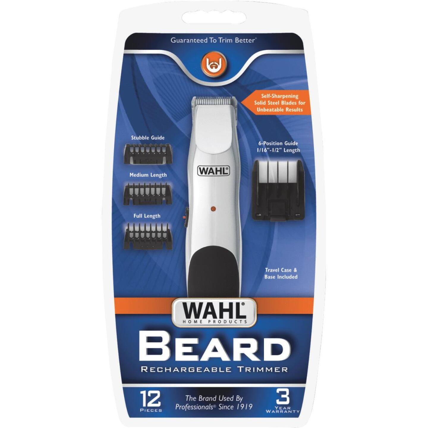 Wahl Rechargeable Beard Trimmer/Groomer Image 2