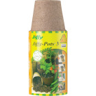 Jiffy 3 In. W. Round Peat Pot (10-Pack) Image 2
