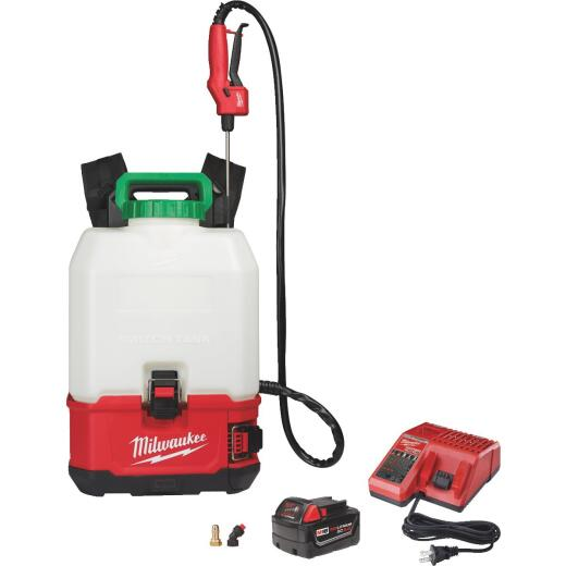 Milwaukee M18 Switch Tank 4 Gal. Backpack Sprayer Kit