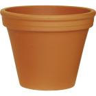 Ceramo 8-3/4 In. H. x 10-1/4 In. Dia. Terracotta Clay Standard Flower Pot Image 1