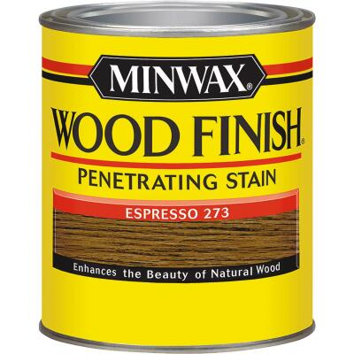 Minwax Wood Finish Penetrating Stain, Espresso, 1/2 Pt.
