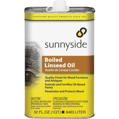 Sunnyside Boiled Linseed Oil, 1 Qt.