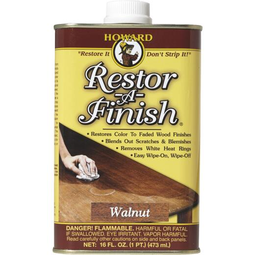 Howard Restor-A-Finish 16 Oz. Walnut Wood Finish Restorer