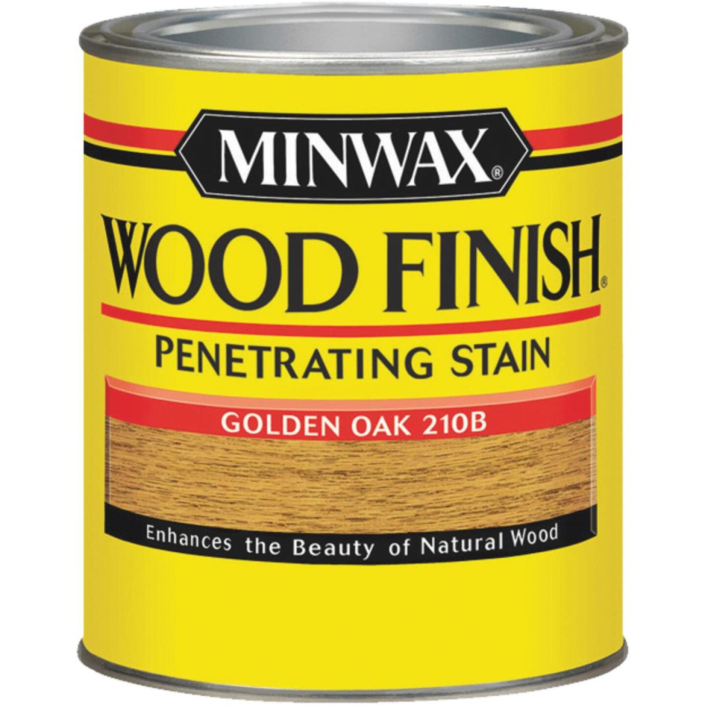 Minwax Wood Finish Penetrating Stain, Golden Oak, 1/2 Pt. Image 1
