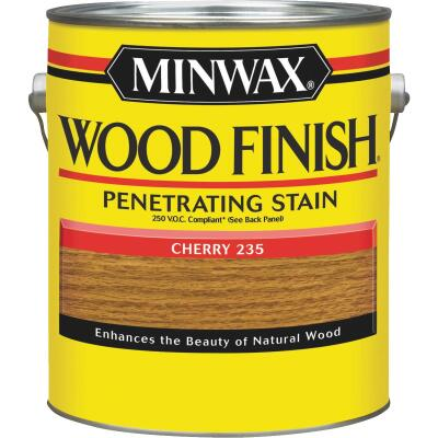 Minwax Wood Finish VOC Penetrating Stain, Cherry, 1 Gal.